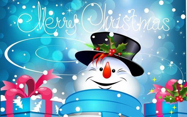 Joli bonhomme de neige