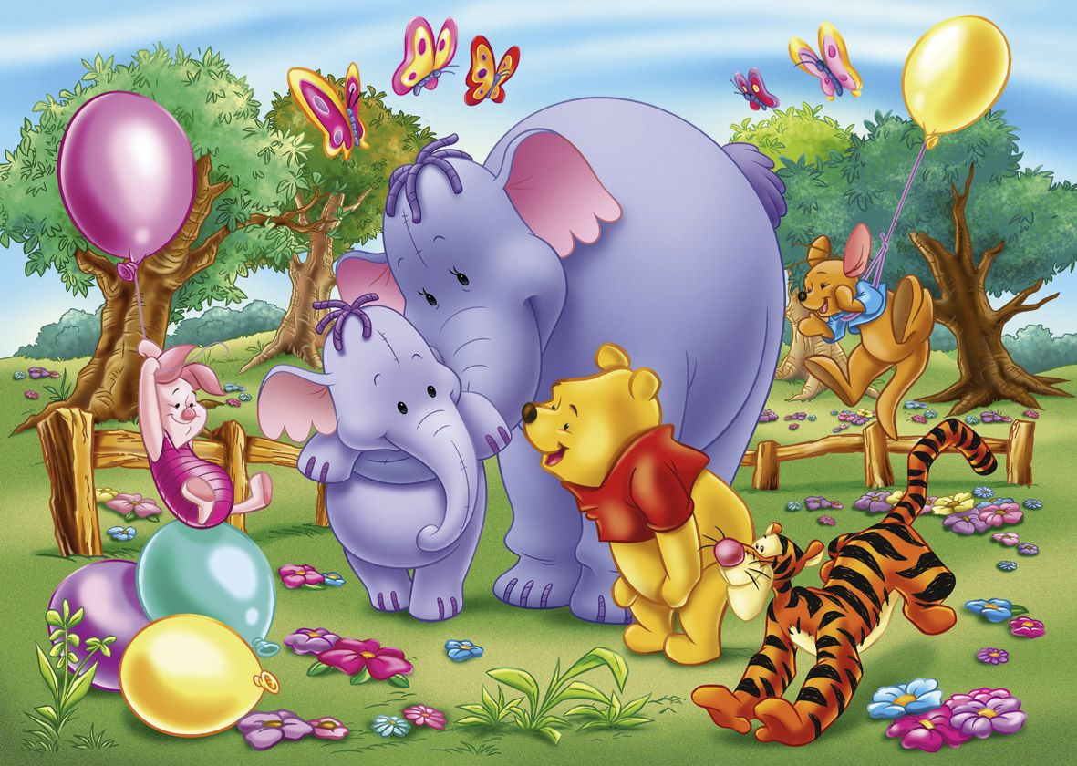 Winnie ourson et ses amis - Pochoir winnie l ourson ...